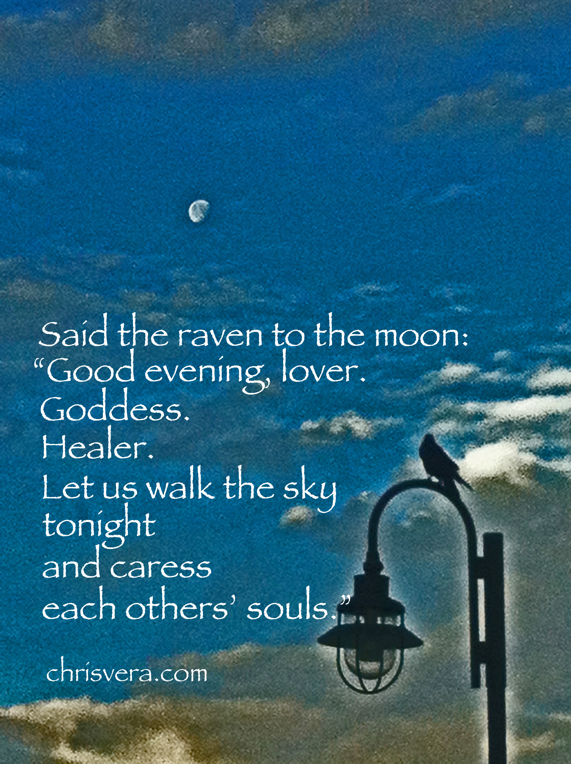 moon hello poetry